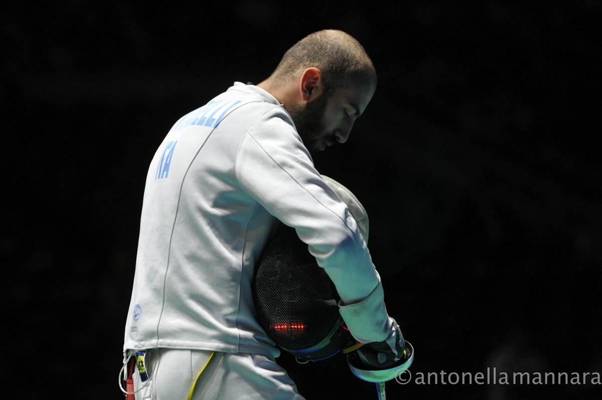 Andrea Santarelli - Mondiali Scherma Mosca 2015